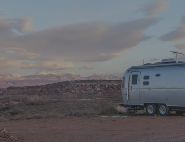 Airstream in the Desert