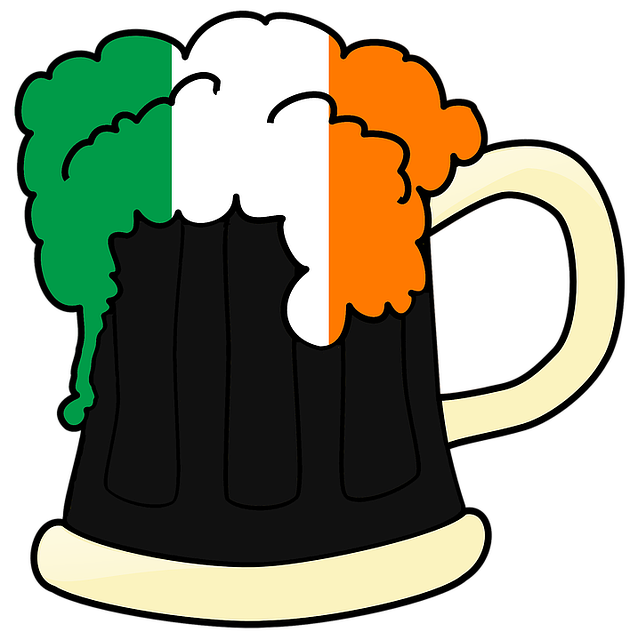 Irish Flag Beer Mug